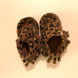 Cheetah Print Moccasins